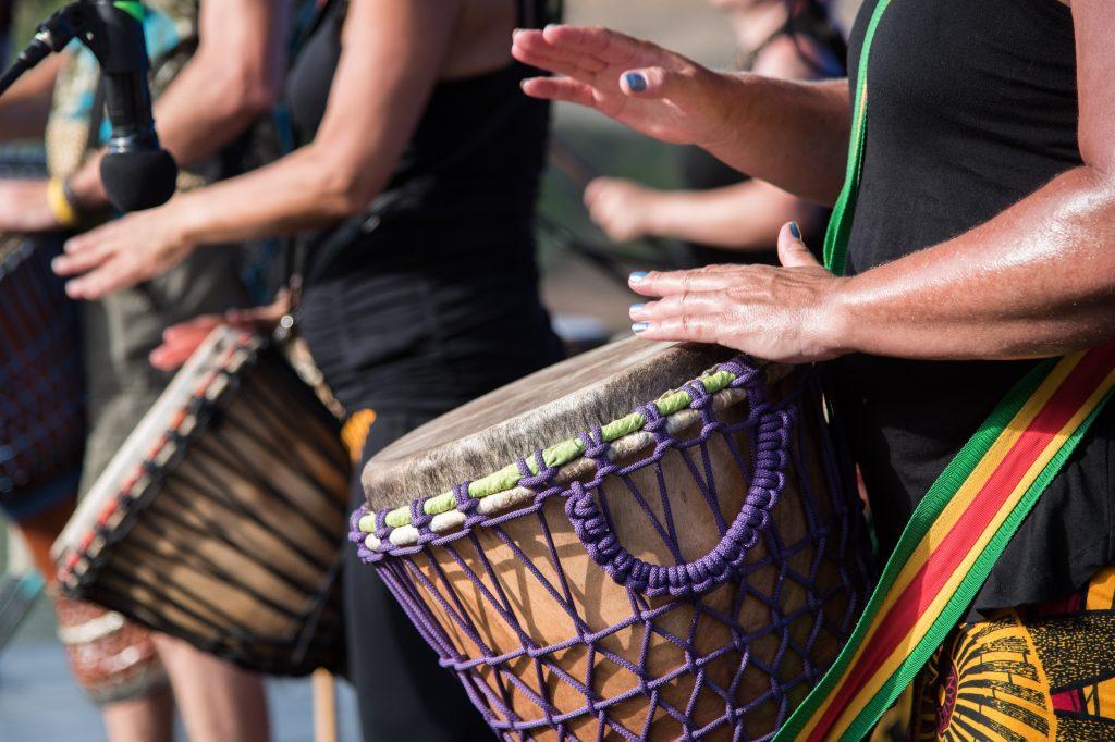 event team drumming